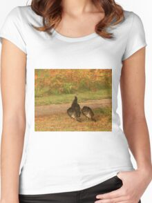 Wild Turkeys Women's Fitted Scoop T-Shirt