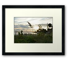 Beach Sport Framed Print