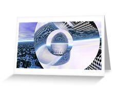 Misplaced Singularity Greeting Card