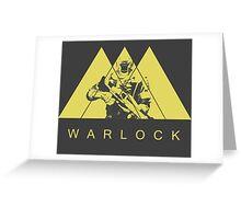 Warlock by Shoro Greeting Card