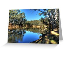 Bend on the Goulburn Greeting Card