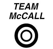 Team McCall Photographic Print