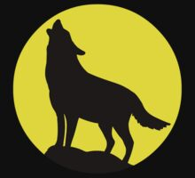 Wolf Howling At The Moon by sweetsixty