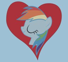 I have a crush on... Rainbow Dash Kids Tee