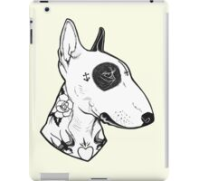 Tattooed Bullterrier iPad Case/Skin