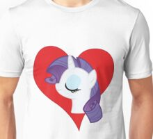 I have a crush on... Rarity Unisex T-Shirt