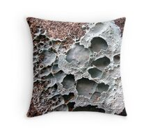 Pretty in Putty Throw Pillow