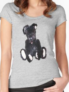 Be My Teddy Bear..Tee Women's Fitted Scoop T-Shirt