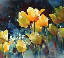 Yellow Tulips by jfolgert