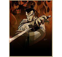 Jack the Samurai Photographic Print