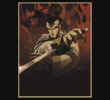 Jack the Samurai One Piece - Short Sleeve