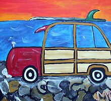 If Pebody and Sherman bought a Woody Wagon by Maureen Zaharie