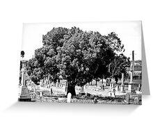 The Guardian Tree Greeting Card