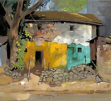 Village House 1 by MilindMulick