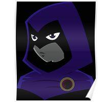 Teen Titans - Serious Raven Poster
