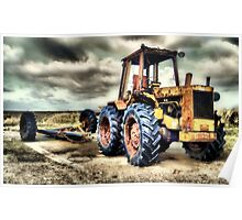 Spurn Tractor Poster