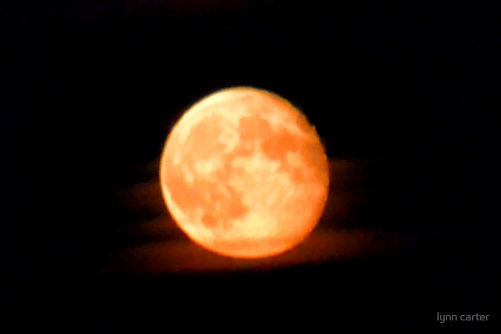 The Moon Tonight  2012-08-12 by lynn carter