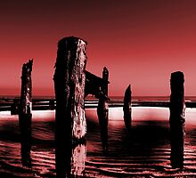 spurn breakwater by martinhenry