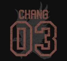 Chang Quidditch Jersey Kids Tee