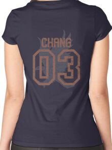 Chang Quidditch Jersey Women's Fitted Scoop T-Shirt