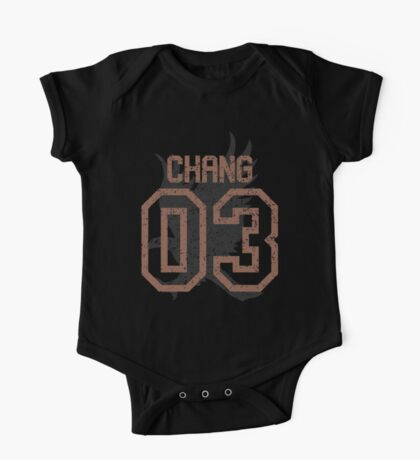 Chang Quidditch Jersey One Piece - Short Sleeve