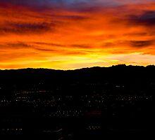 Las Vegas sunset by petitejardim
