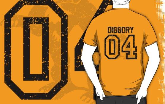 Diggory Quidditch Jersey by jcthomason
