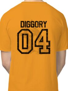 Diggory Quidditch Jersey Classic T-Shirt