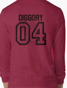 Diggory Quidditch Jersey Long Sleeve T-Shirt
