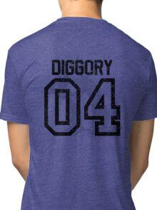Diggory Quidditch Jersey Tri-blend T-Shirt