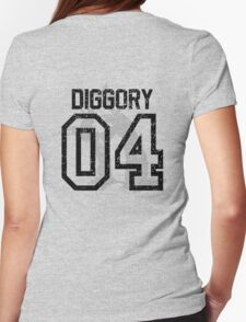 Diggory Quidditch Jersey Womens Fitted T-Shirt