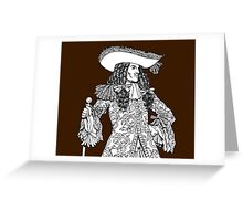 Spanish Explorer Greeting Card