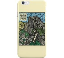 Half Dome Water Color iPhone Case/Skin