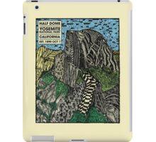 Half Dome Water Color iPad Case/Skin