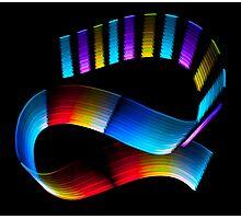 Colour Wave Photographic Print