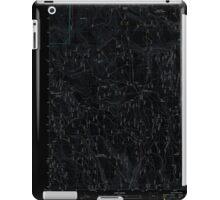 USGS Topo Map Oregon Telephone Butte 20110713 TM Inverted iPad Case/Skin
