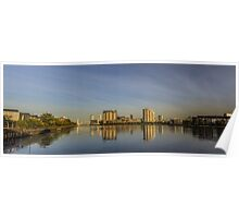 Media City Panorama Poster