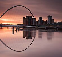 Millenium Sunrise by Philip  Whittaker
