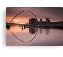 Millenium Sunrise Canvas Print