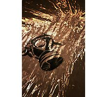 Gas Masked On Acid Wall Photographic Print