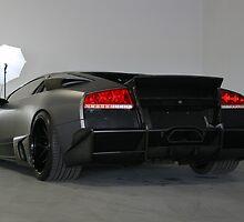 Lamborghini LP640 - Getting Ready for Model Shoot by Daniel  Oyvetsky