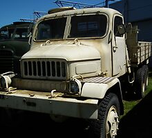 Old Military Truck by Andy Jordan
