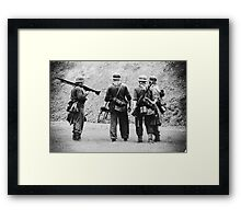 MG42 Team Framed Print