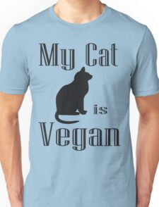 My Cat is Vegan Unisex T-Shirt