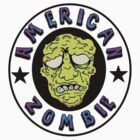 American Zombie Circle Face  by americanzombie