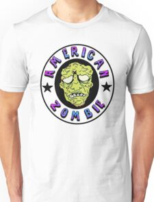 American Zombie Circle Face  Unisex T-Shirt