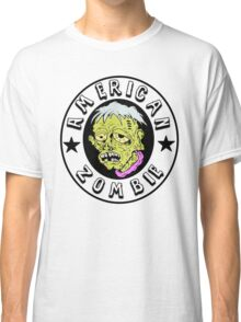 American Zombie Circle Face Part 2 Classic T-Shirt