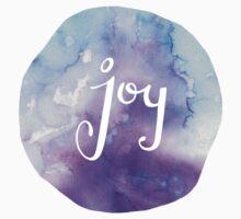 Watercolor Joy: Purple (can be modified) Kids Tee