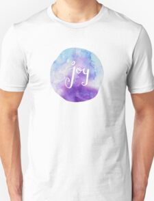 Watercolor Joy: Purple (can be modified) Unisex T-Shirt