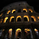 Colosseum at Night by Samantha Higgs